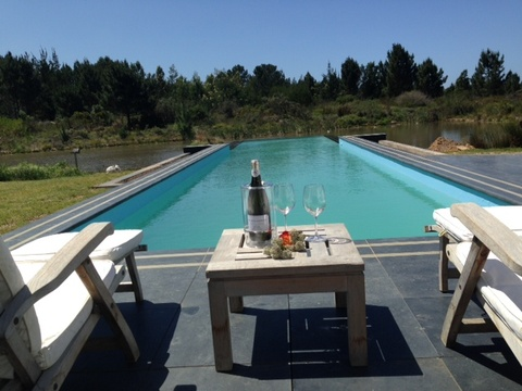 Swimming pool, Buffelsdam Country House