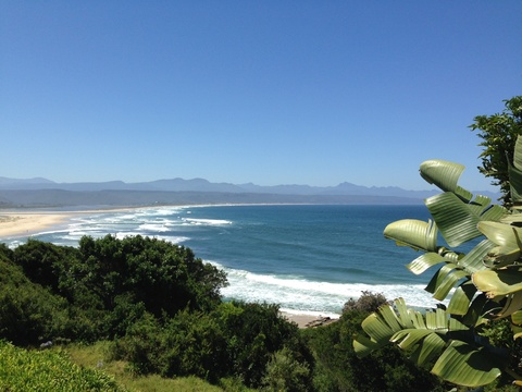 The beautiful coastline between Plettenberg and The Crags